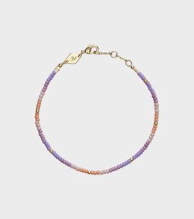 Tie-Dye Bracelet Peach Blossom