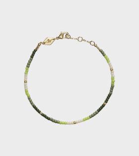 Tie-Dye Bracelet Sea Green