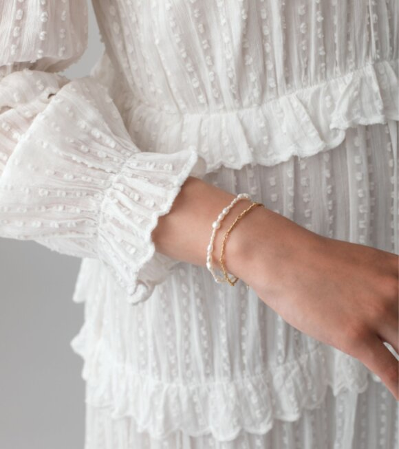 Anni Lu - Sprezzatura Bracelet White