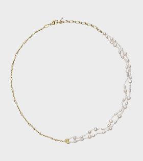 Sprezzatura Necklace White