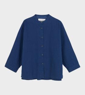 Faith Shirt Twill Japanese Blue