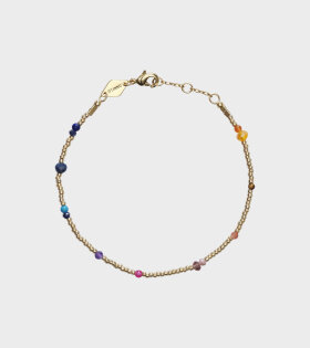 Purple Rain Bracelet Gold