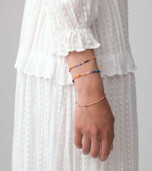 Anni Lu - Purple Rain Bracelet Gold