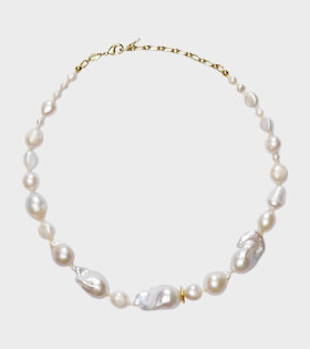 Jet-set Pearl Necklace White