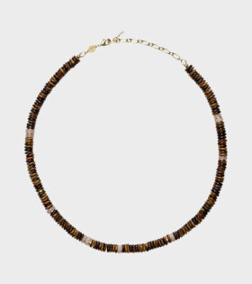Anni Lu - Eye of the Tiger Necklace Brown