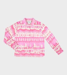 Nomi Shirt Pink Landscape
