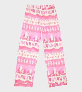 Nomi Pants Pink Landscape