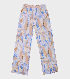 Aceno Pants Abstract Penguin