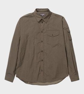 Osvald Windbreaker Shirt Ivy Green