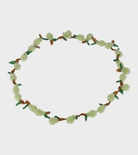 Pura Utz - Pear Galore Necklace Green