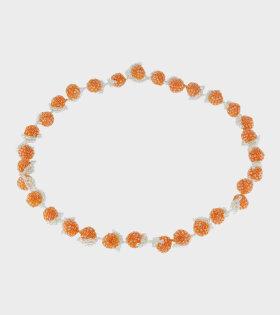 Pura Utz - Orange Galore Necklace Orange