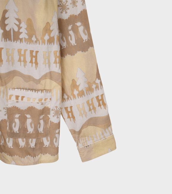 Helmstedt - Nomi Shirt Brown Landscape