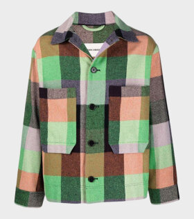 Henrik Vibskov - Lamington Jacket Green/Orange/Lavender
