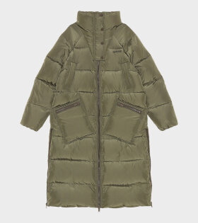 Long Tech Puffer Jacket Kalamata