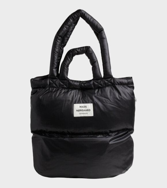 Mads Nørgaard  - Pillow Bag Shiny Black