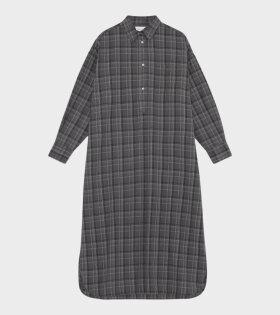 Skall Studio - Edgar Shirtdress Check Grey
