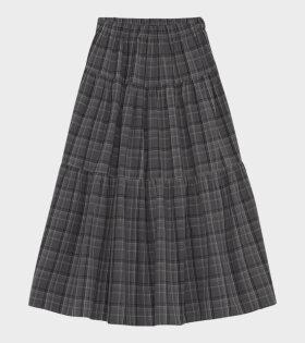 Skall Studio - Anna Skirt Check Grey