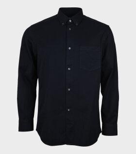 Twill Straple Shirt Navy