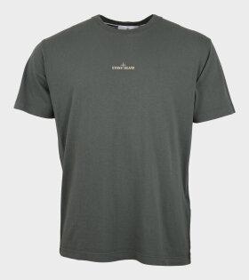 Stone Island - Logo Print T-shirt Green