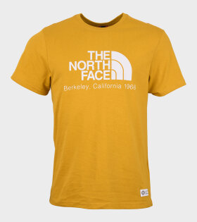 The North Face - Scrap BKL Cali Tee Arrowwood Yellow