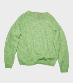 Acne Studios - Mohair Blend Sweater Green