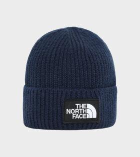 The North Face - TNF Logo Box Cuf Beanie Navy