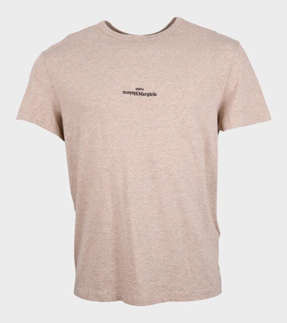 Maison Margiela - Logo T-shirt Beige