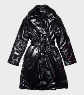 Acne Studios - Padded Face Coat Black