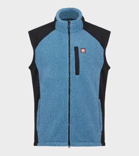 Tindur Sherling Vest Blue