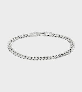 Tom Wood - Curb Bracelet L Silver