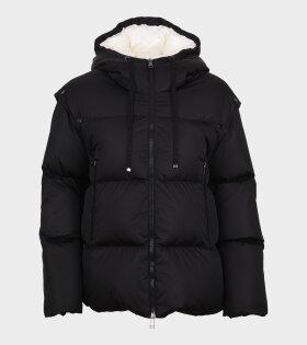 Asaret Hooded Down Jacket Black