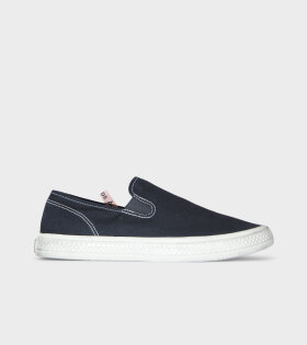 Ballow Tumbled Canvas Sneakers Black