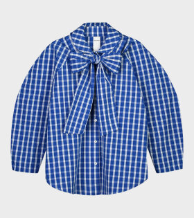 Calder Shirt Blue/White