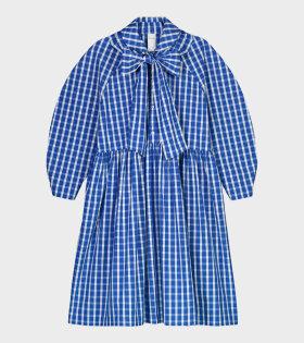 Calder Dress Blue/White