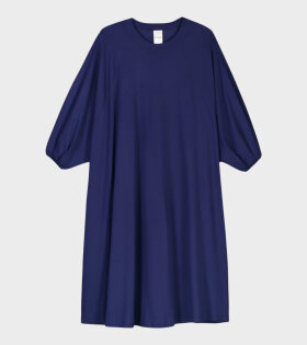 Raglan Sleeve Dress Blue
