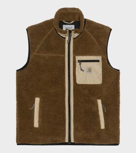 Prentis Vest Liner Brown