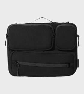 Multi Storage Laptop Case Black