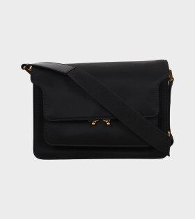 Medium Nylon Trunk Bag Black