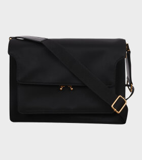 Large Nylon Trunk Bag Black