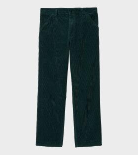 Corduroy Simple Pant Frasier Green