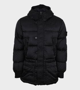 Nylon Raso Down-TC Jacket Black