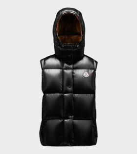 Luzule Vest Black/Brown