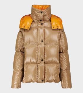 Parana Giubbotto Down Jacket Brown/Orange