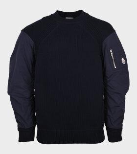Bomber Knit Navy