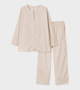 Pyjamas Poplin Vanilla
