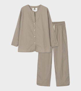 Pyjamas Poplin Cocoa