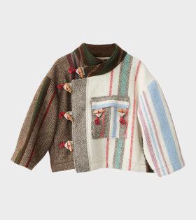Klippan Wool Blanket Jacket Multicolor