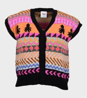 Lola Wool Vest Multicolor