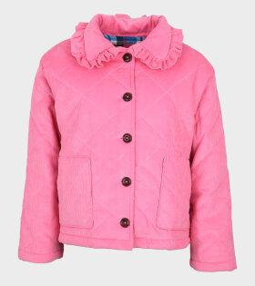 Opal Jacket Corduroy Pink