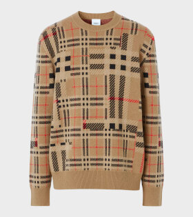 Chidsey Cashmere Knit Brown